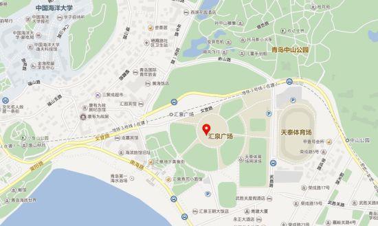 车展地点:青岛汇泉广场(中山公园对面)