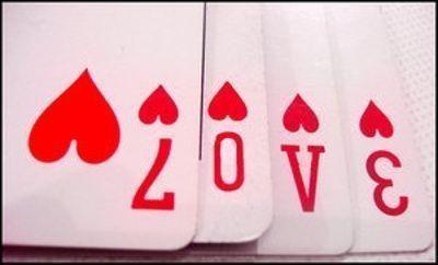 心形扑克牌手工制作步骤