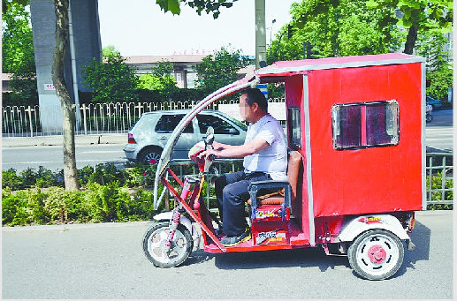 无证驾驶代步车将处罚