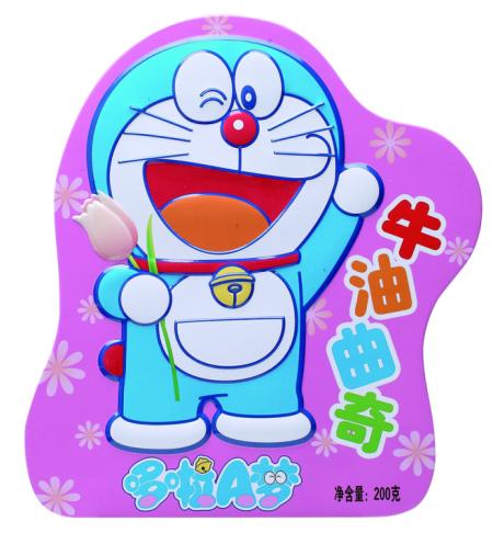 哆啦A梦牛奶曲奇饼