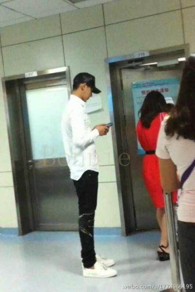 吴亦凡被目击北京医院看心脏科