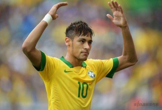 巴西前锋内马尔
