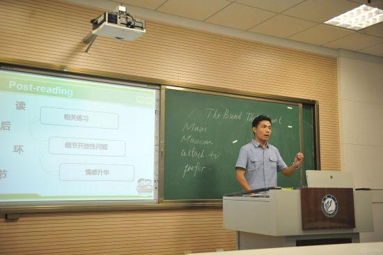 7月5日,教务处举办了首届聊城大学优秀实习支教生标兵课堂教学竞赛暨