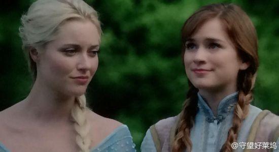 Elsa和Anna的剧中画面已放出