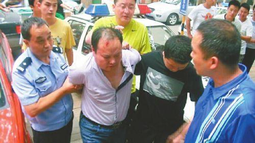 涉嫌绑架的嫌疑人被警方抓获