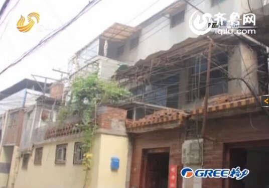 事发地系济南一处简陋出租房。