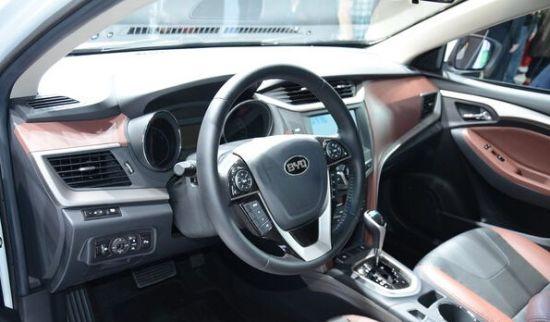 国产紧凑家轿比亚迪g5惊艳上市