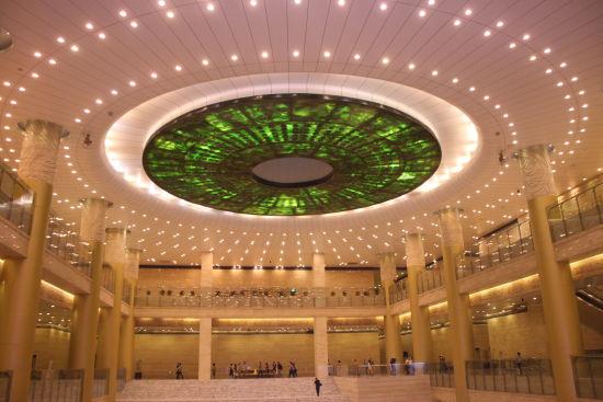 山东省博物馆大厅
