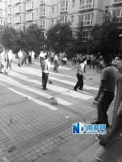 据称,双方发生冲突后,十多名民警赶到现场也没能阻止打斗,后又增派警力才把事件平息下来。孔素英家属供图