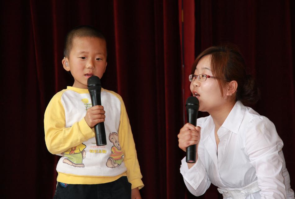 聋幼儿开口说话