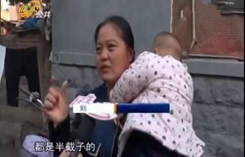 聊城女婴体内被插入16根钢针 遍布臀部腹腔