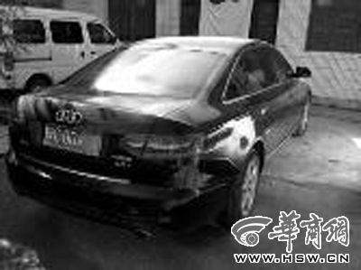 村支书李拉成说,奥迪A6是用前些年做生意赚的钱买的 华商报记者 张宝龙 摄