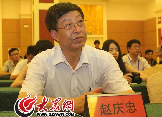 聊城市委常委、宣传部长赵庆忠出席新闻发布会。大众网记者 赫洋 摄