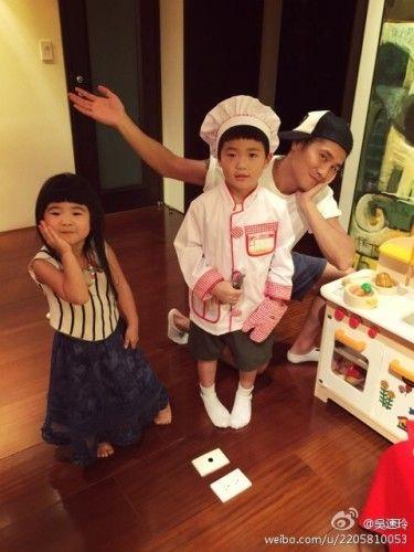 曹格和姐姐&joe