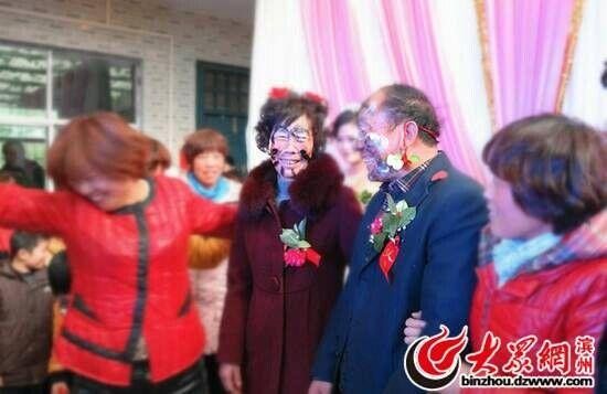 山东滨州闹婚照片集合(一)