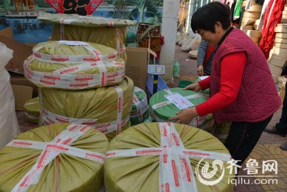 每天,农民电商都要发货到全国各地。