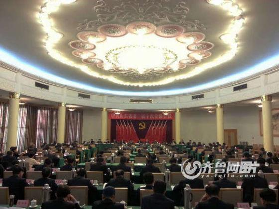 中共山东省委十届十次全体会议举行
