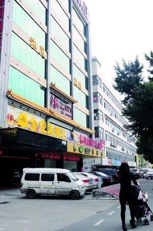 图为涉事的天河棠下金宝莱酒店。 信息时报记者 陆明杰 摄