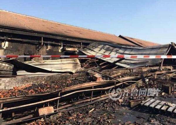 潍坊寿光食品厂大火致18人亡 事发厂房属违建