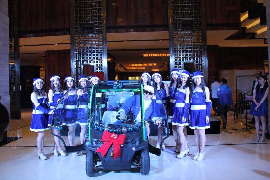 万达凯悦酒店圣诞树亮灯仪式