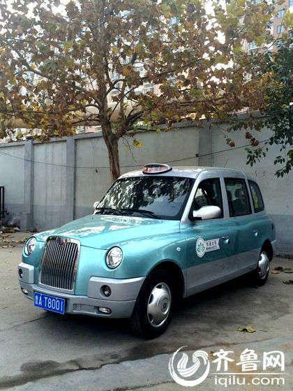 济南两辆无障碍出租车即将上路