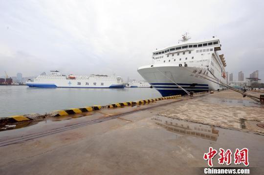 烟台威海发寒潮大风预警 渤海海峡省际客船停航