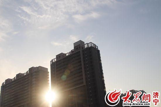 济宁蓝色寒潮预警解除 连续两天见蓝天白云