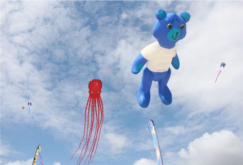 巨型卡通软体风筝