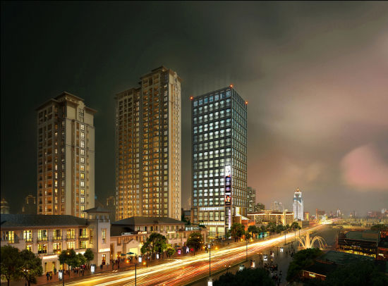 菏泽丹阳优化城市空间功能 打造商贸服务核心区