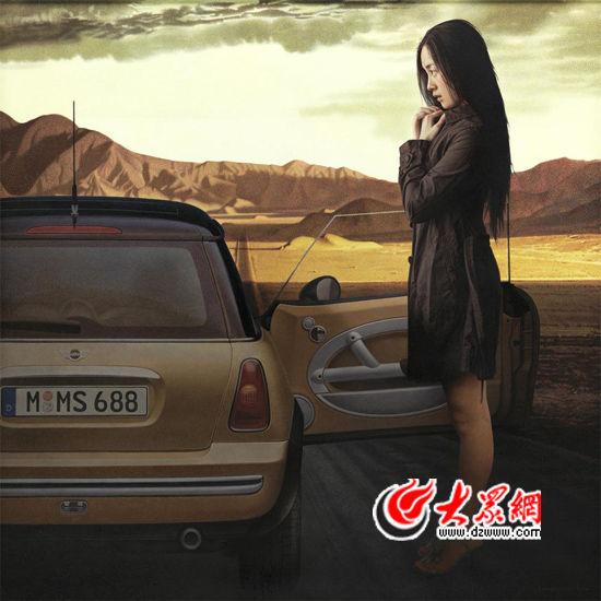李善阳 晚晴 180cm×180cm 布面油画 2012年
