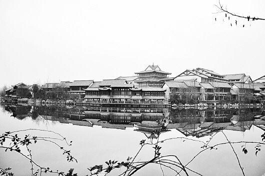 """台儿庄古城拥有京杭运河仅存的最后3公里古运河,是运河文化的""""活化石"""""""
