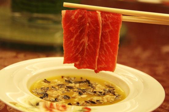 金汤燕麦煮非洲野米配雪花牛肉