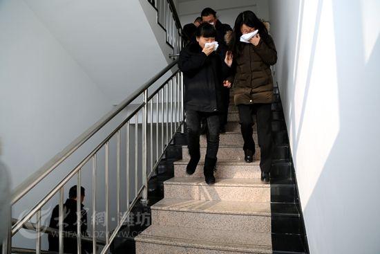 幼儿园安全楼梯逃生