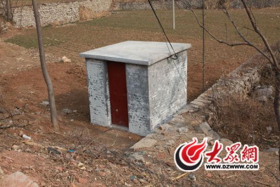 2014年12月19日,双水泉村第一口机井成功出水