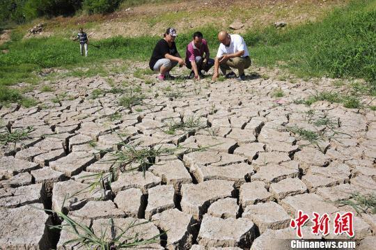 烟台持续干旱 300余个小型水库已干涸(图)