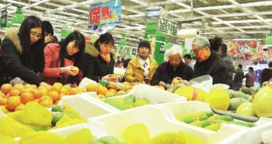 市场难觅三元以下蔬菜