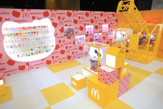"""""""奇趣玩具厂""""展区三:Hello Kitty和朋友区"""