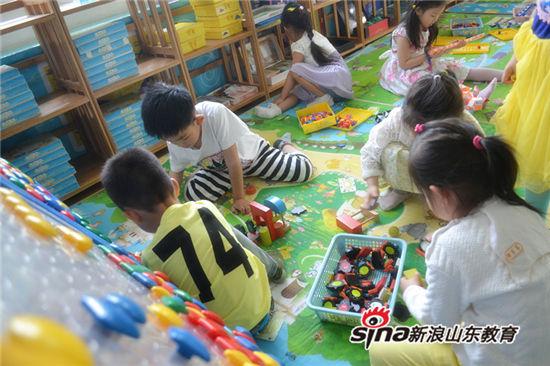 欢畅于游戏之中 释放孩子最真的天性