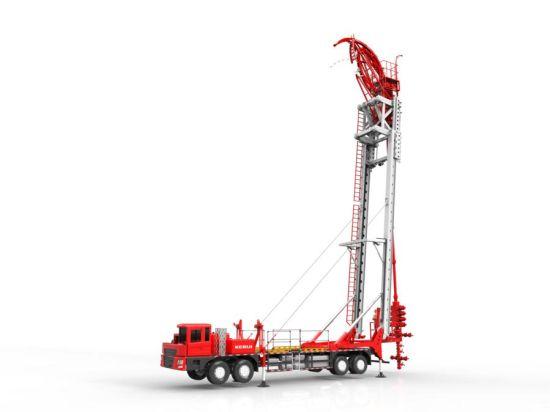 井架结构严格按照api spec 4f 标准进行设计,抗风载能力达到100km/h