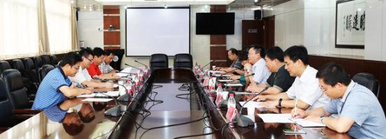 中材科技股份有限公司董事长来济南大学访问交流