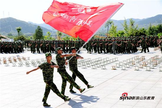 济南中学2016级新生军训圆满结束