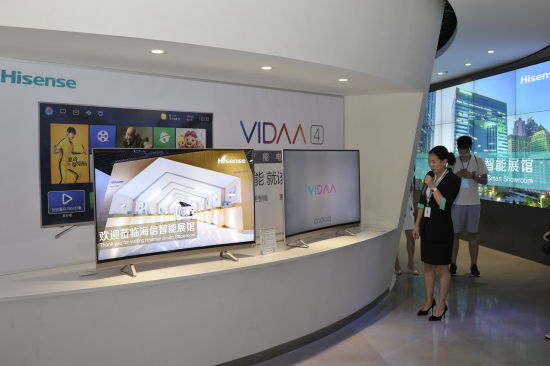 中国发展网:海信高端大屏战略持续发力 4k激光电视深受媒体好评
