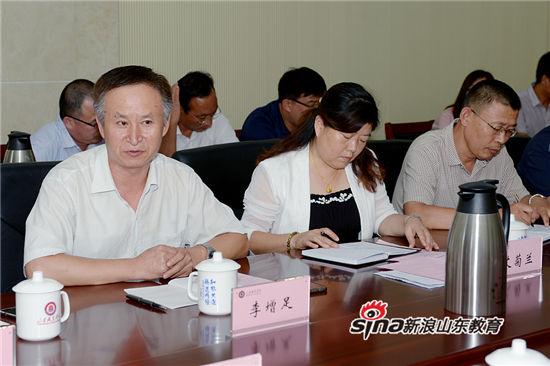山东职业学院举行庆祝教师节教师宣誓仪式