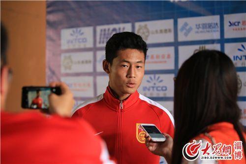淄博籍小球员:在家乡代表中国队比赛荣幸又幸福