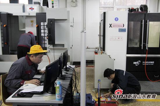 """2016年省赛高职组""""三维建模数字化设计与制造""""项目在山东职业学院开赛"""