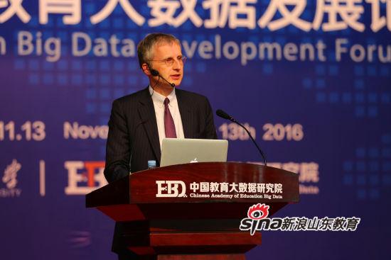 """""""大数据驱动的教育变革""""首届中国教育大数据发展论坛 舍恩伯格"""