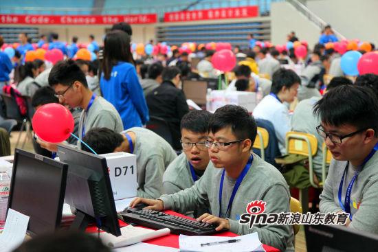 第41届ACM国际大学生程序设计竞赛青岛站在石大举行