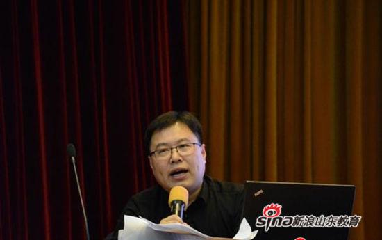 山东省实验中学副校长林宝磊