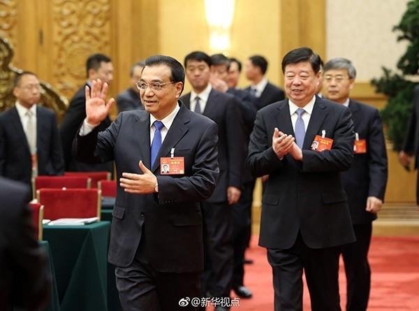 李克强与山东团代表共同审议政府工作报告