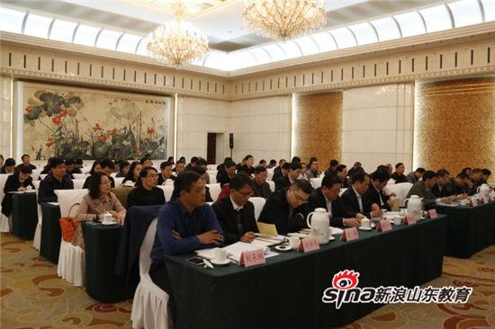 齐鲁理工学院校长常翠鸣在民办高校党委书记选派工作动员部署会上作表态发言